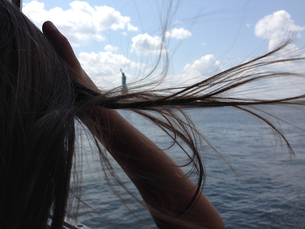 Flying Hair | Watching you while you're looking at the world
