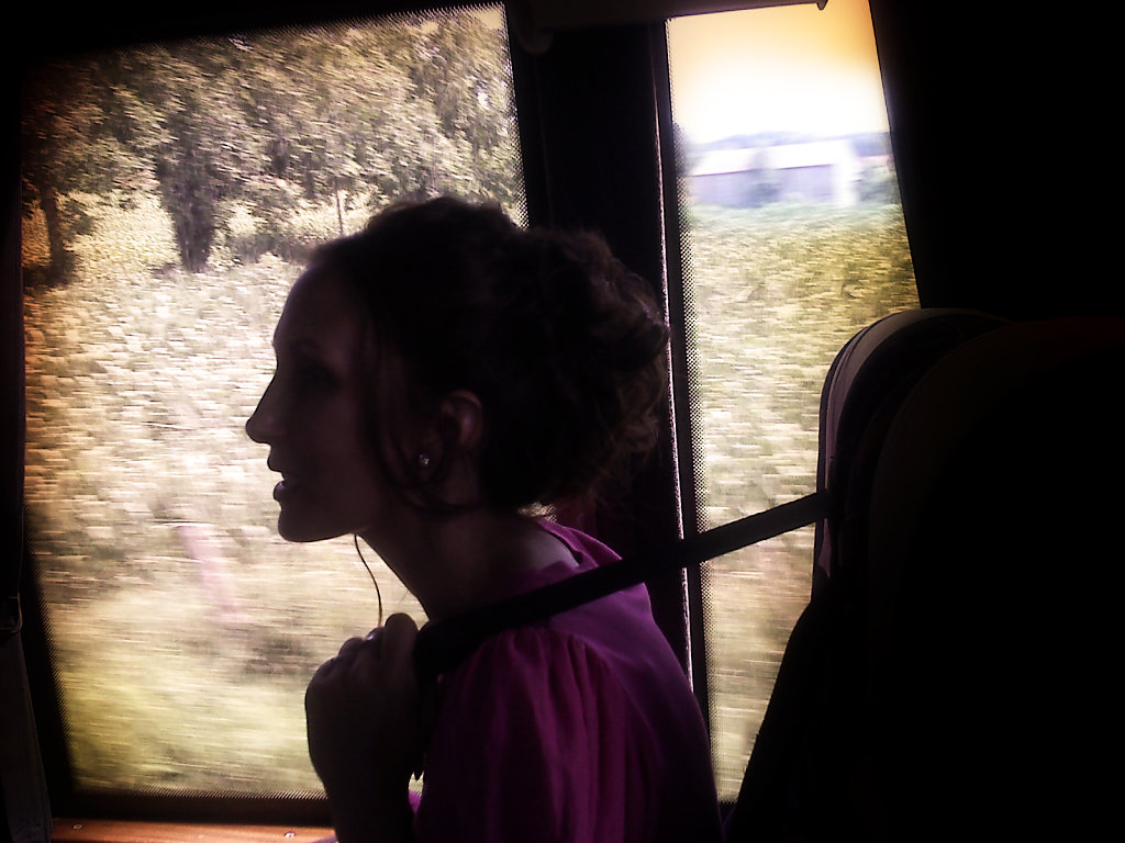 Priscilla in the Bus